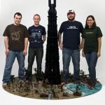 Lego Orthanc Art Show
