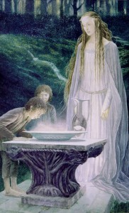 The Mirror of Galadriel by Alan Lee