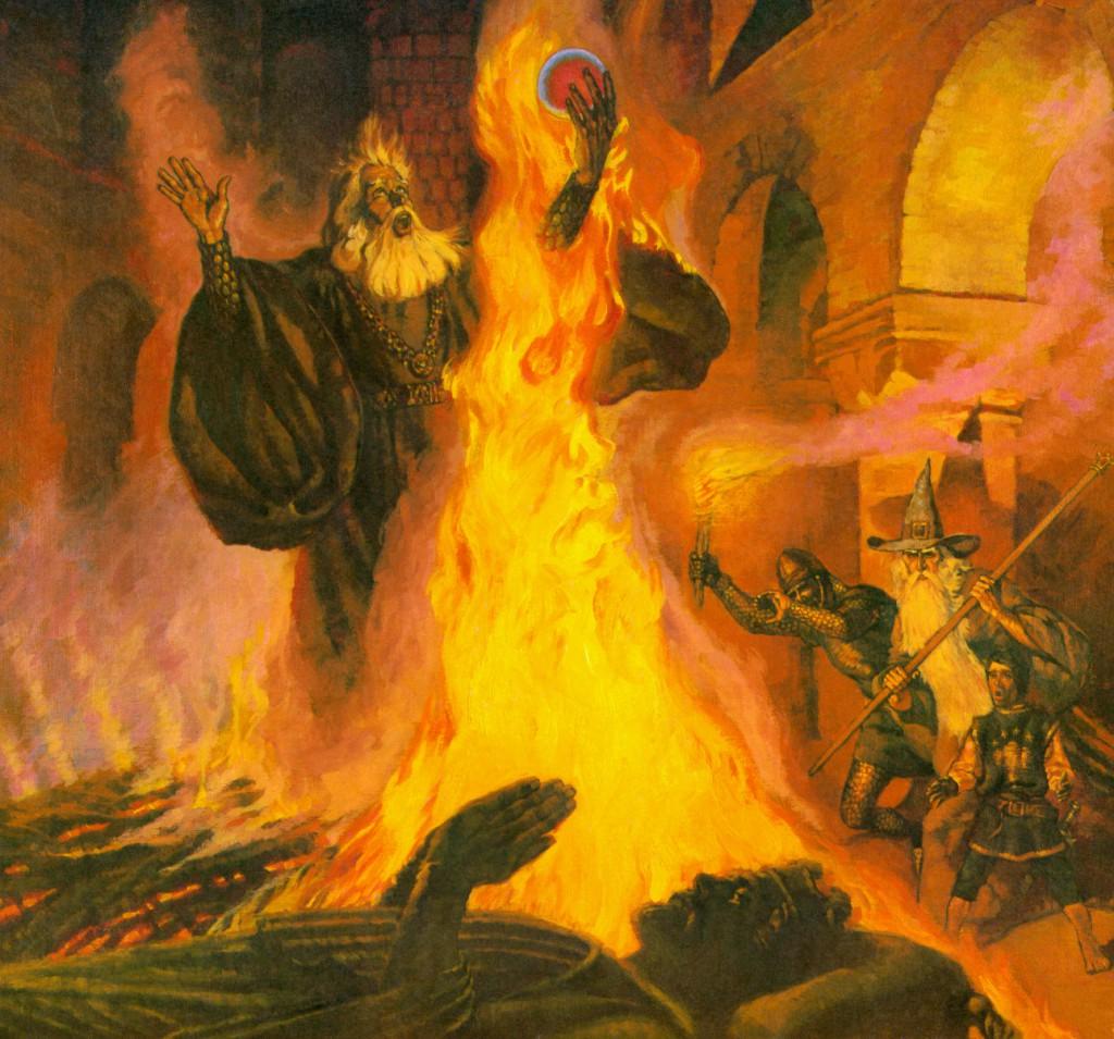 Image result for pyre of denethor