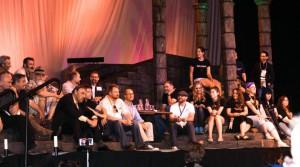 dwarves and staff