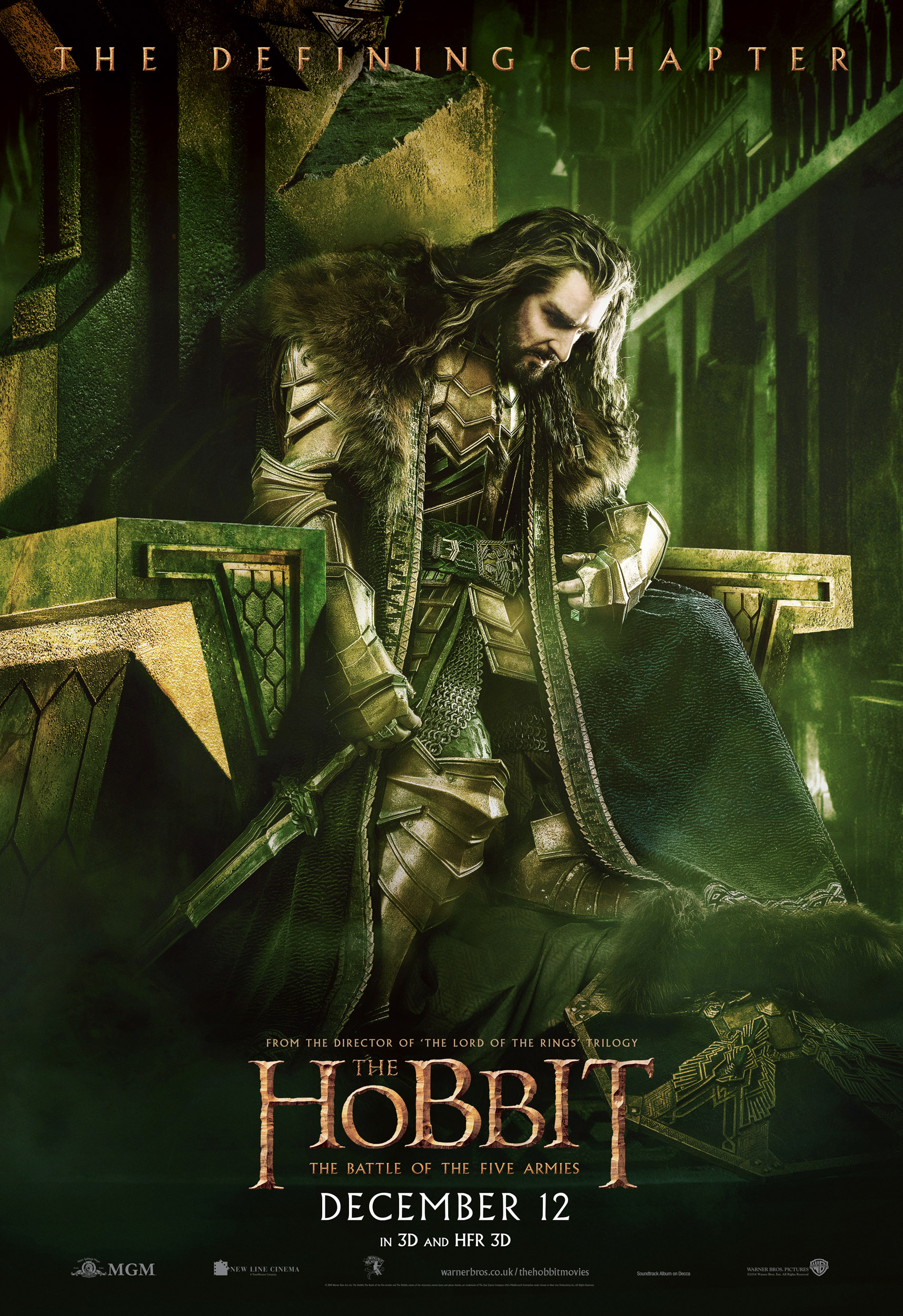 Seven Battle of the Five Armies banners and posters in high