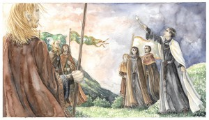 The oath of  Eorl and Cirion - Firiel