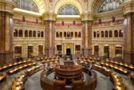 Library of Congress reading-room