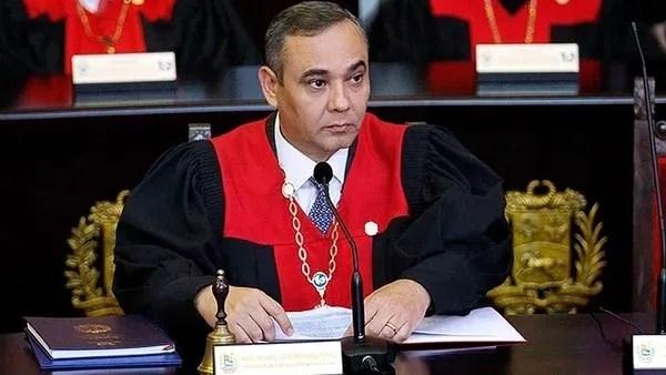 Maikel Moreno, presidente del TSJ