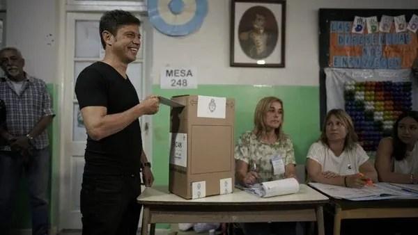 Axel Kicillof ganó la provincia de Buenos Aires y la gobernará a partir del 10 de diciembre (Pablo Barrera)