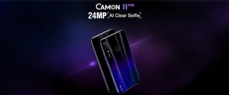 Tecno Camon 11 Pro wonderful features