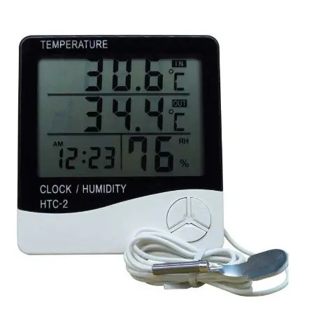 Indooor & Outdoor Digital Thermometer And Hygrometer