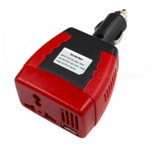 Car Inverter – 150 Watts – Dc 12v To Ac 220v
