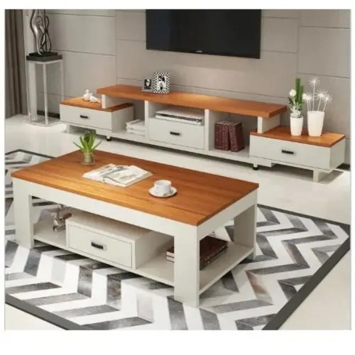 luxury tv stand and centre table with free side stool