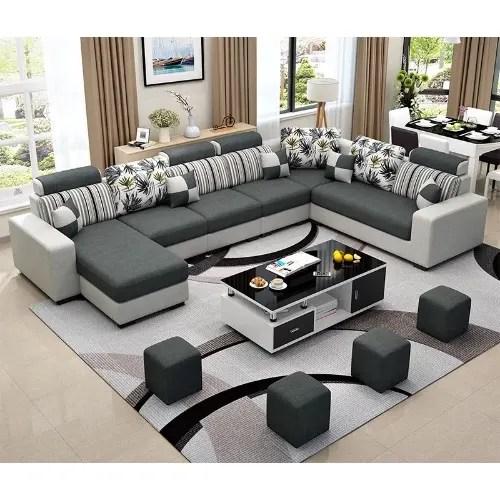 living room furniture alva sectional sofa centre table set