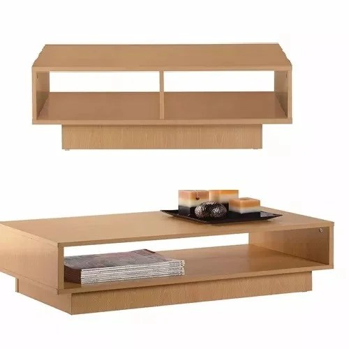 nicole cubes shelf coffee table tv stand beech effect