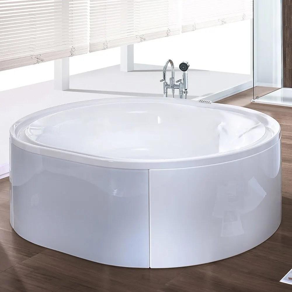 Hoesch Ergo Badewanne 200 X 160 Cm Freistehend Mit Aussenverkleidung 6442 010310550 Megabad