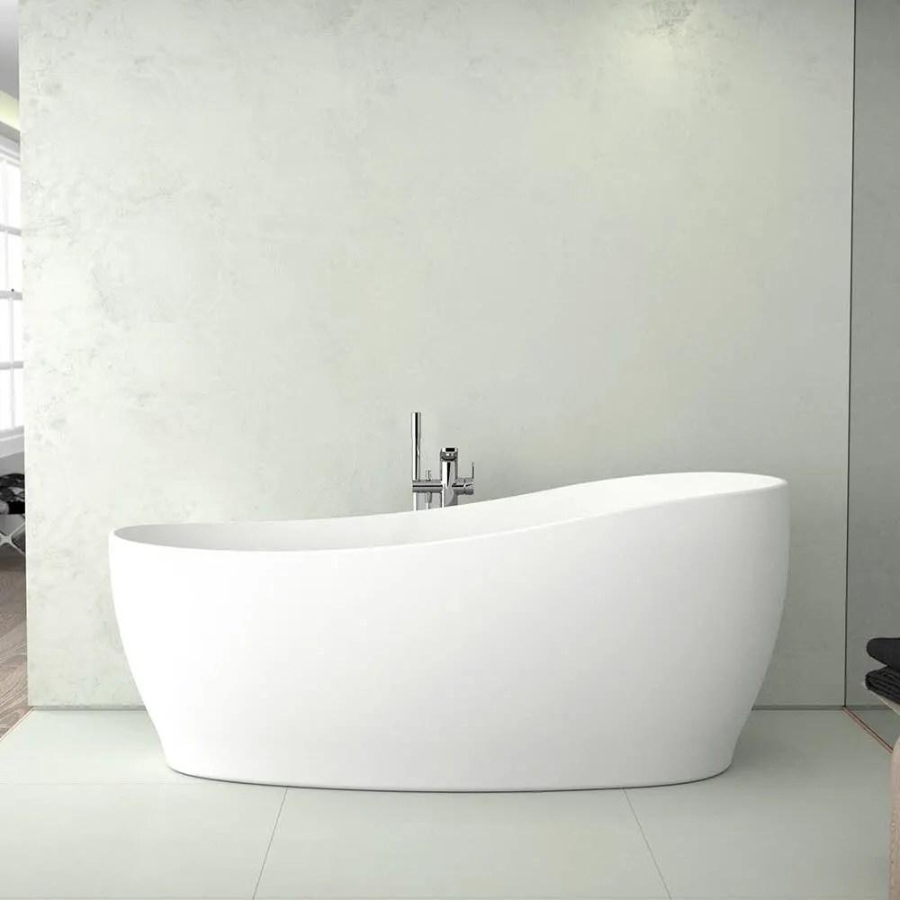 Ideal Standard Around Freistehende Korperform Badewanne 180 X 85 Cm Inkl Ab Und Uberlauflaufgarnitur K871501 Megabad