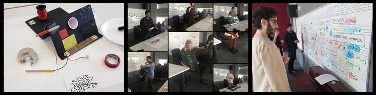Scenes from DMI co-design workshops