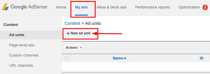 cara memasang iklan adsense di blog
