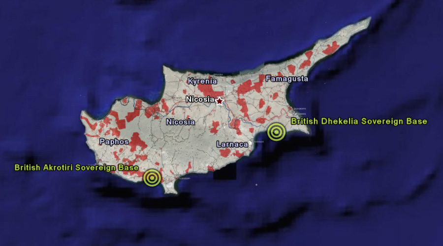 British Military Bases in Cyprus