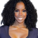 AF-S2-609011 Black Tousled Afro Synthetic Wigs