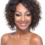 AF-S2-609039 Short Wigs Black Tousled African American Wigs
