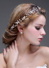 Beaded Headpiece Chain Bridal Headbands Tiara( 47 Cm X 2.5 Cm)