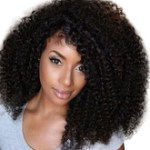 AF-S2-638193 African American Wigs Black Curly Synthetic Wigs For Black Women