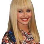 AF-S2-669005 Long Hair Wigs Light Apricot Straight Synthetic Wigs With Bangs