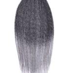 AF-S2-670575 Braid Hair Extensions Crochet Havana Mambo Twisted Light Gray Ombre Braiding Hair