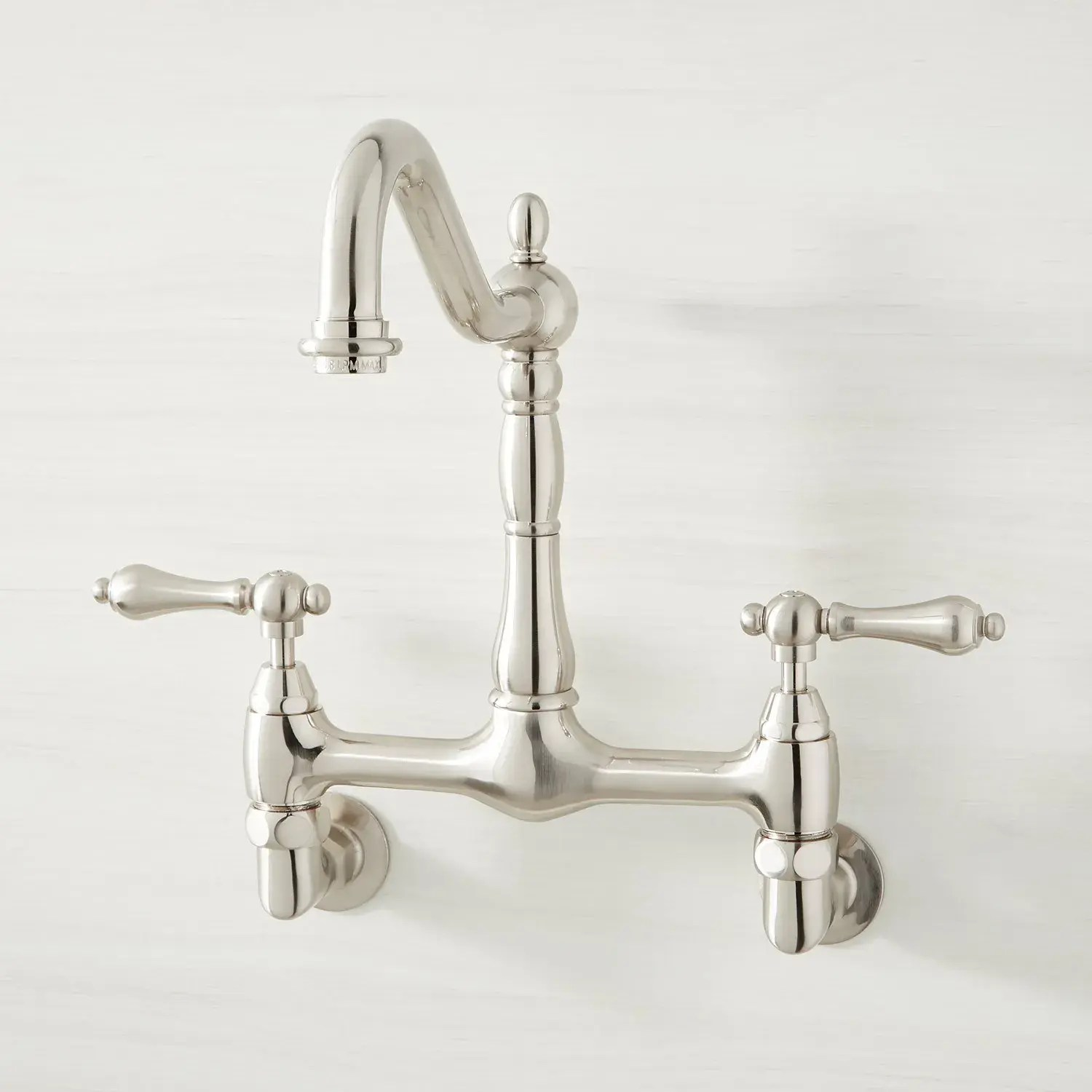 felicity wall mount kitchen faucet
