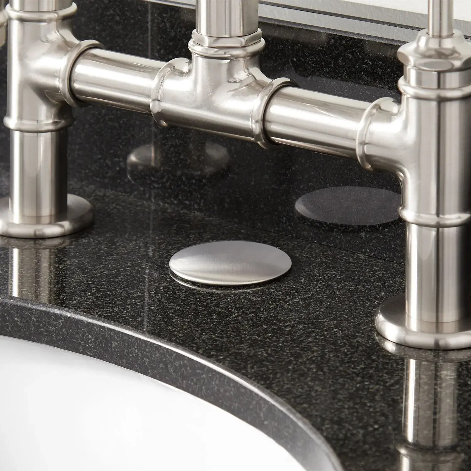 2 faucet hole cover