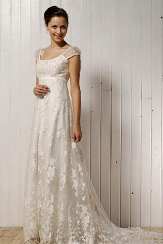 5ea7d430a4bb6 Wedding Dress Lines. online a organza ruched fitted bodice ...