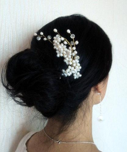 diy beaded hair b tutorial weddingbee