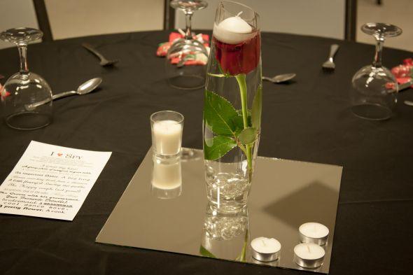 DIY Submerged Rose Centrepieces Weddingbee Photo Gallery