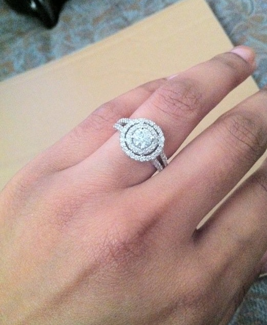 Another Pic Of My Engagement Ring Weddingbee Photo Gallery
