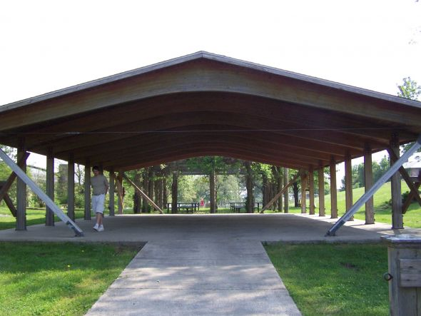 Weatherproofing And Decorating An Outdoor Pavilion Space