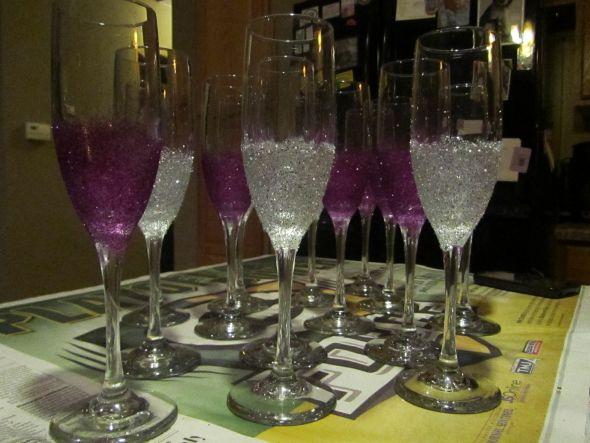 Bridal Party Champagne Flutes