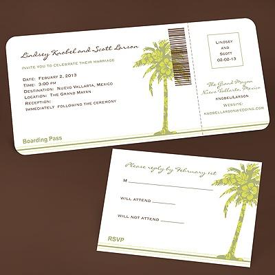 Invitations For Destination Wedding