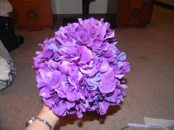 Bridal Bouquet Instructions On Using Silk Flowers