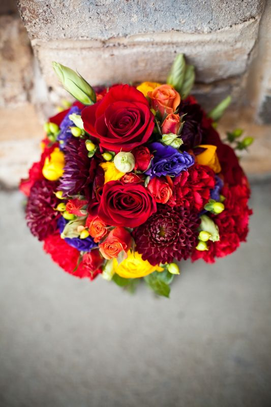 Fall Wedding Reception Centerpieces