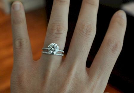 Gap Between My E Ring And Wedding Band
