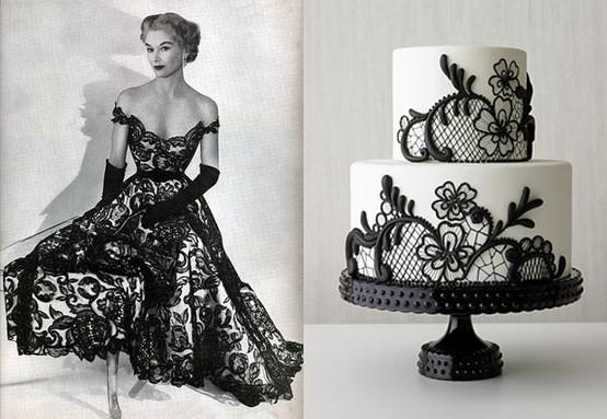Help Me Find: Black Lace Vintage Wedding Dress!
