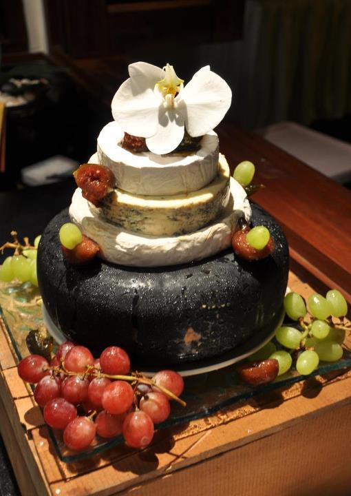 Our Cheese Wedding Cake Weddingbee Photo Gallery