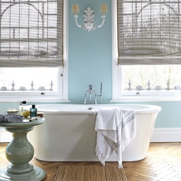 Color Forecast Pantone Spring Summer 2014 Placid Blue Bathroom Wall Standalone Bathtub Bay Windows Wall Sconce