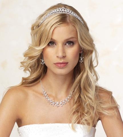 show me your tiara hair style pics weddingbee