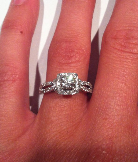 My Vera Wang Love Collection Engagement Ring