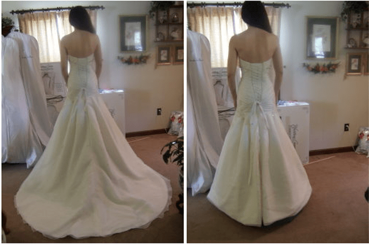 May I See Pro Pics Of You In Your Dress With *no* Train?