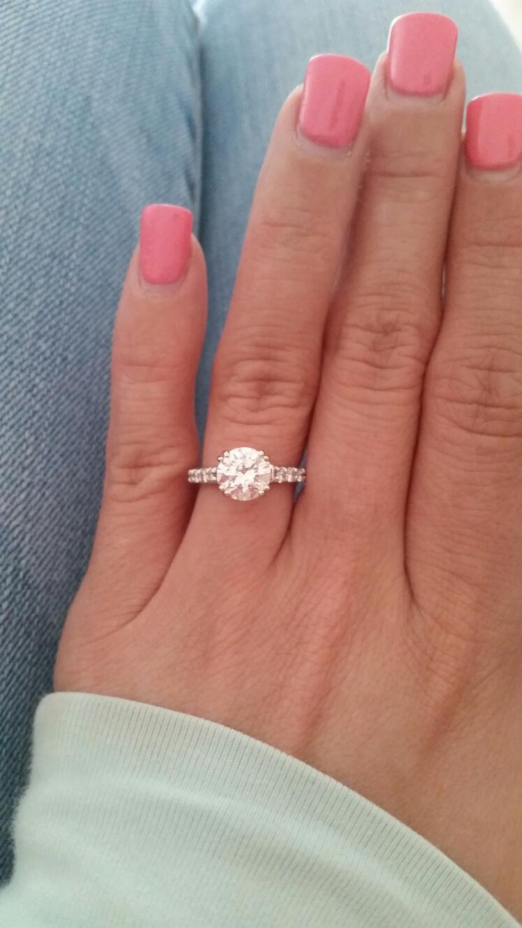 Please Show Me Your Classic Solitaire Rings Weddingbee