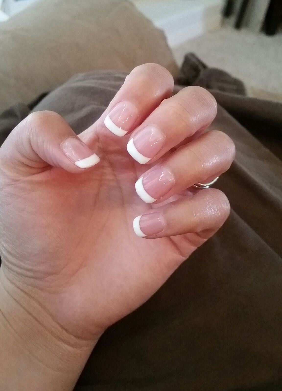 Poll French Tip On Natural Nails