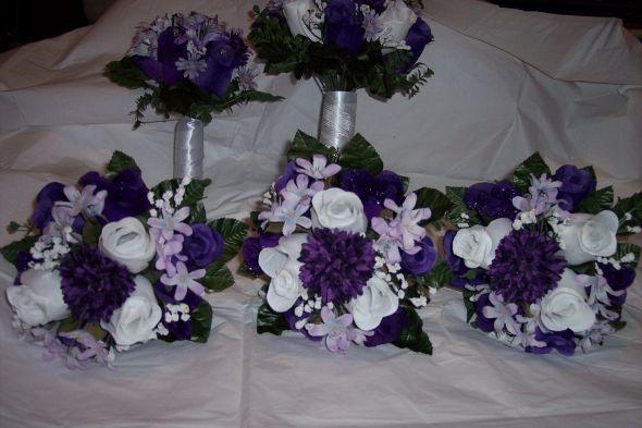 My DIY Fake Flower Bouquets
