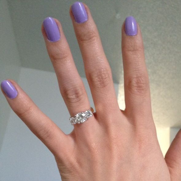 Solitaire To Three Stone Ring Reset