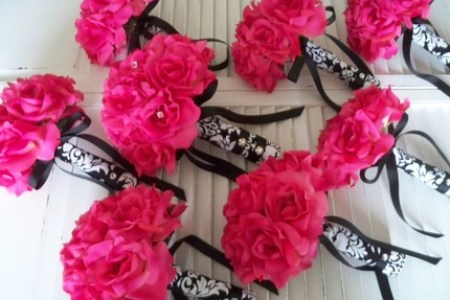 black and hot pink wedding » 4K Pictures | 4K Pictures [Full HQ ...