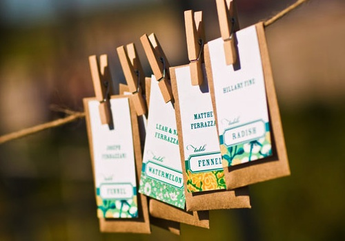 Image result for seeds wedding favours